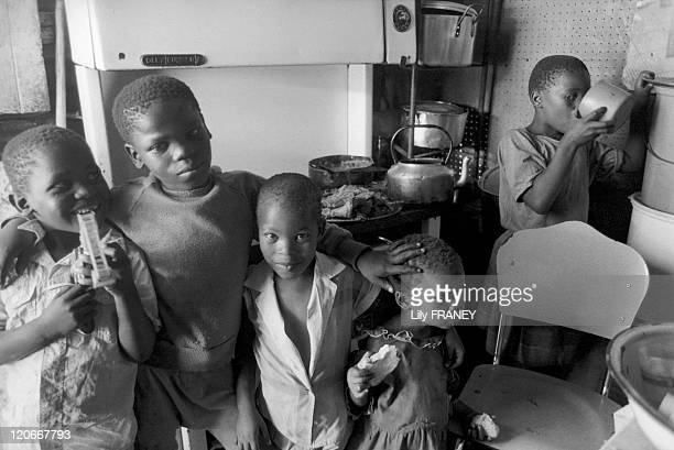 Orange Farm South Africa in December 1989 Displaced populations from Soweto in Orange Farm