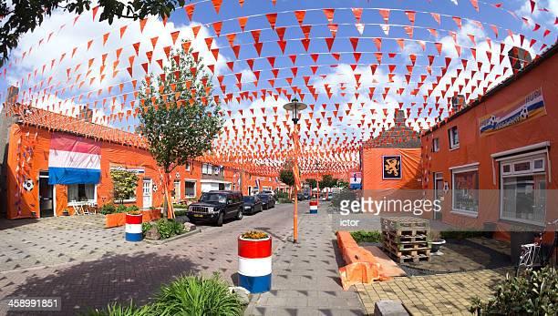 Orange fever in the Netherlands