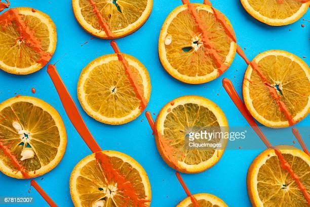 orange fruit background - cliqueimages ストックフォトと画像