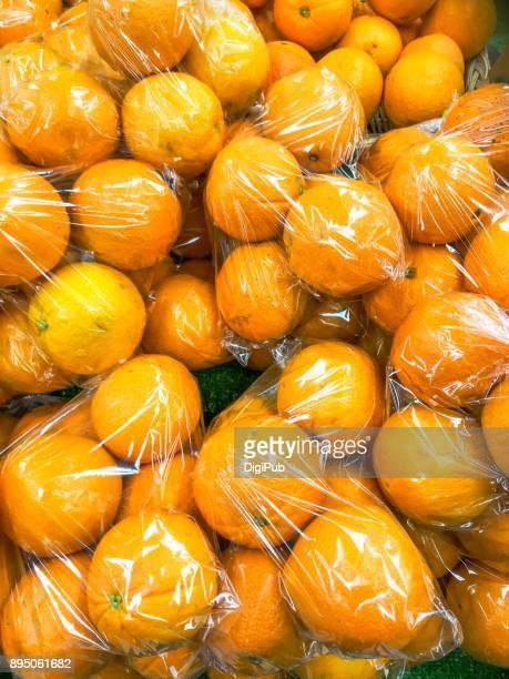 Orange fruits imported from Australia