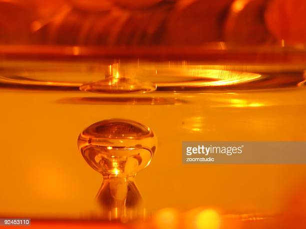 Orange réflexion en verre