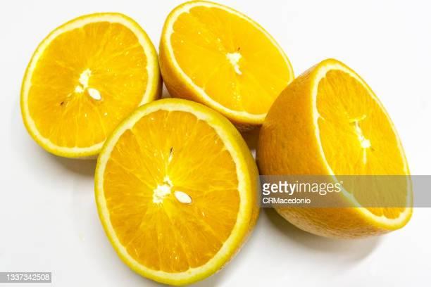 orange in dessert. - crmacedonio fotografías e imágenes de stock