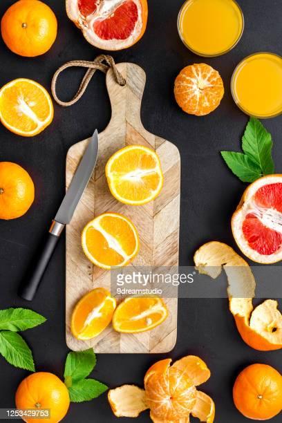 orange juice with grapefruit mix top