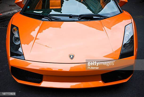 2006 orange Lamborghini Gallardo Spyder