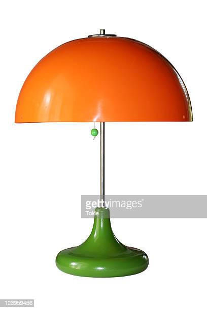 orange lampe - lamp stock-fotos und bilder