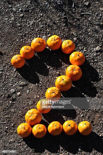 Orange Number. Two