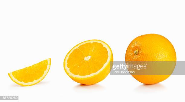 orange on white - orange stock pictures, royalty-free photos & images