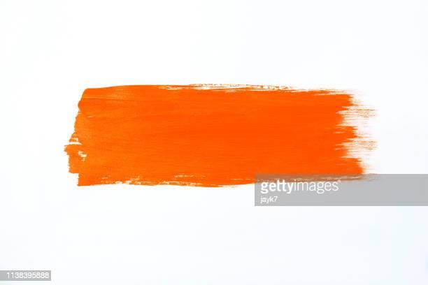 orange paint - orange farbe stock-fotos und bilder