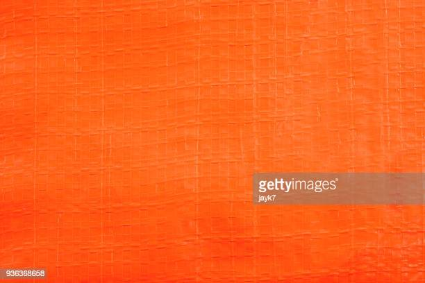 Orange Plastic Sheet Background