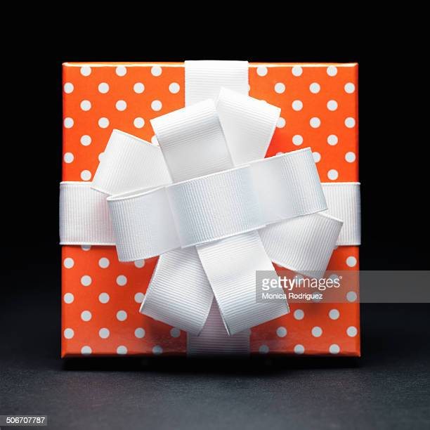 Orange Polka Dots Gift