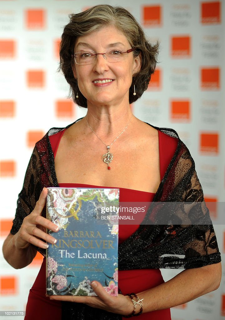 Orange Prize for Fiction shortlisted author Barbara Kingsolver poses for photographs at a photocall prior to the awards ceremony, at the Royal Festival Hall in London on June 9, 2010. The winner will be presented with their award by Britain's Camilla, Duchess of Cornwall, at a ceremony later this evening.