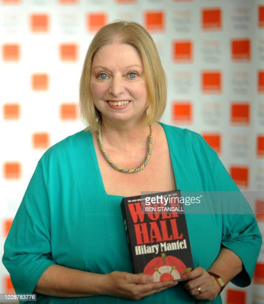 Orange Prize for Fiction shortlisted author Hilary Mantel poses for photographs at a photocall prior to the awards ceremony at the Royal Festival...