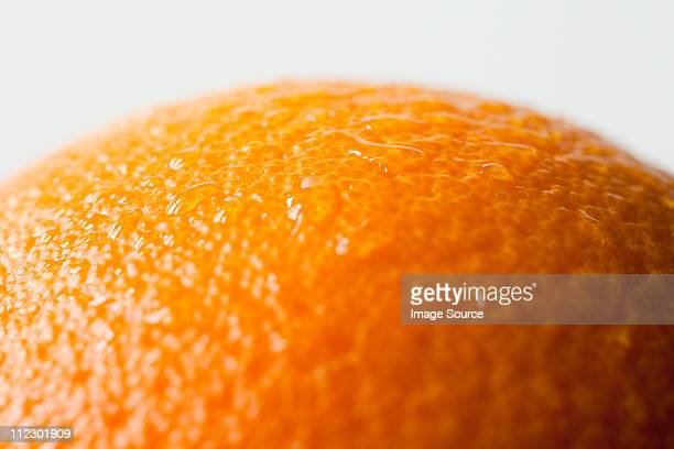 Orange rind, close up