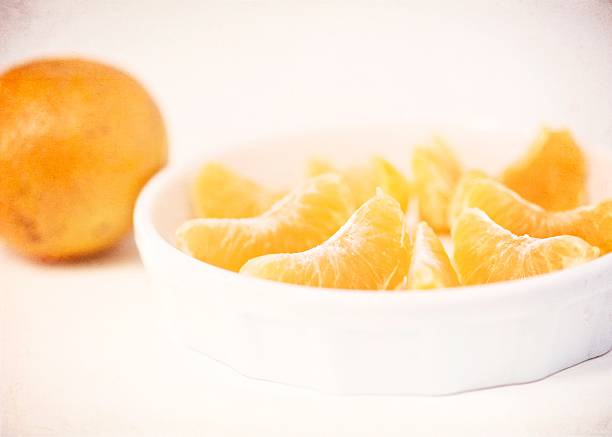 Orange Segments And A Orange Wall Art