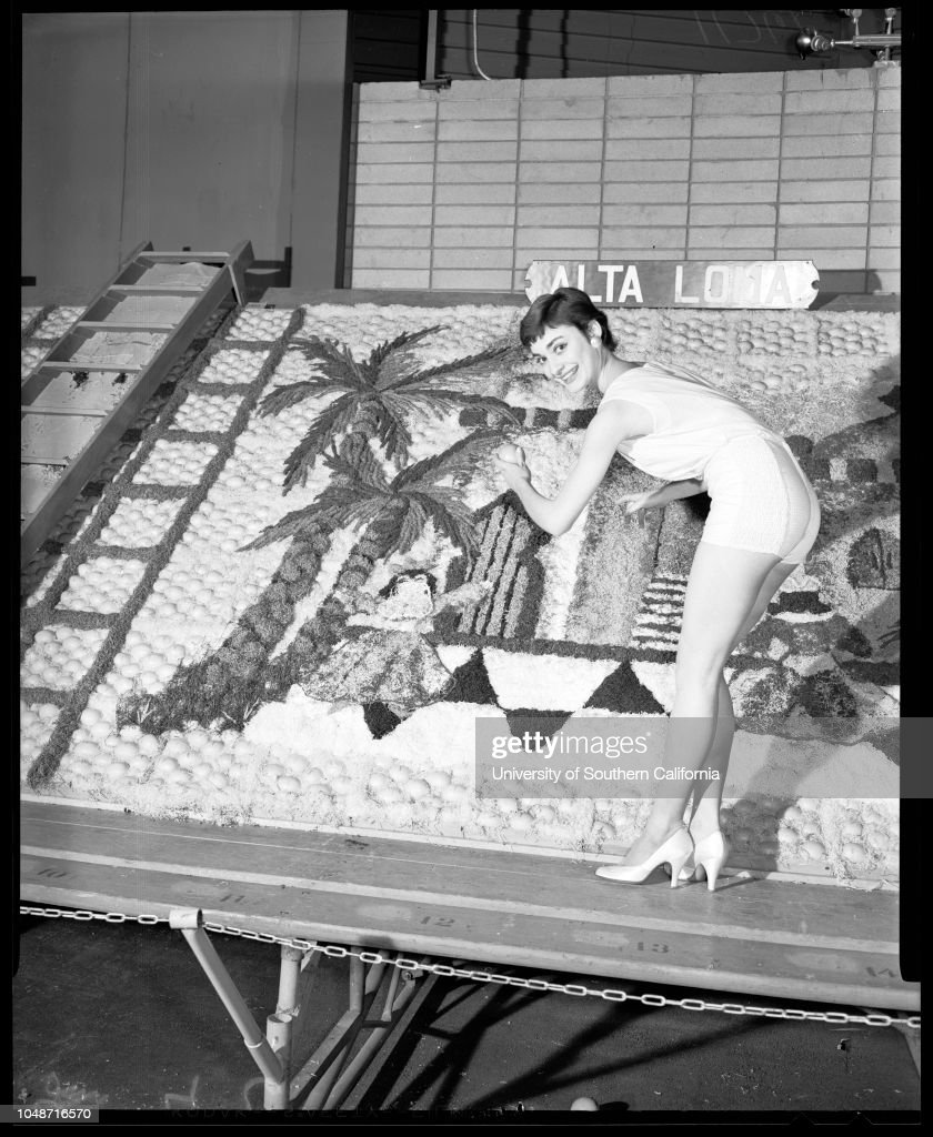 Orange show in San Bernardino, 1956 : News Photo