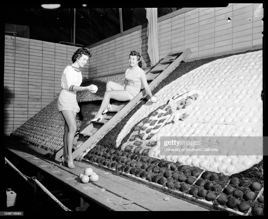 Orange show in San Bernardino, 1956 : Fotografía de noticias