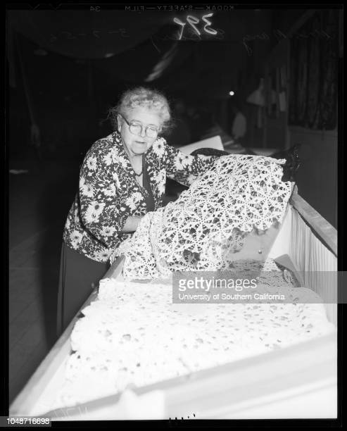 Orange show in San Bernardino March 7 1956 Marge DivelCarol WilsonGay CowieJeanne BlackSheri YoungGay Helen GroverAlexa LomaMarilyn Van DeusenBarbara...