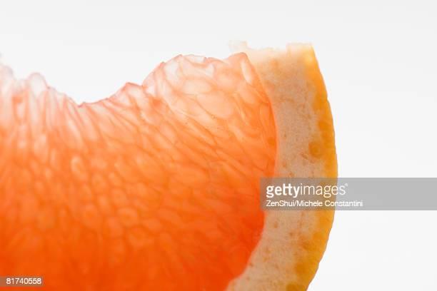 Orange slice, close-up