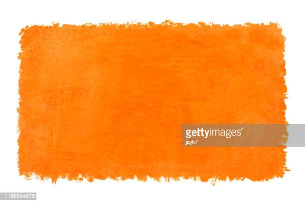 orange watercolor background - orange farbe stock-fotos und bilder