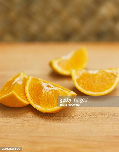 orange wedges - mcconnell stock pictures, royalty-free photos & images