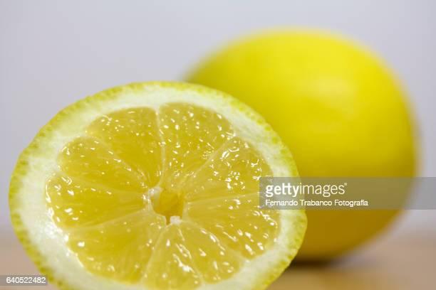 orange with dew