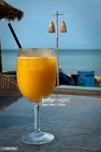 orange with ice - nigel owen stock pictures, royalty-free photos & images