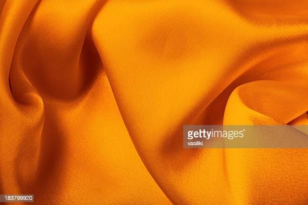 orange yellow satin - silk stock pictures, royalty-free photos & images