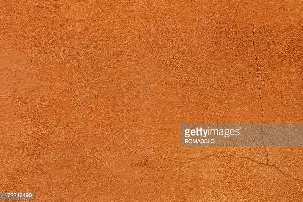 Orange/red colored Roman grunge wall texture