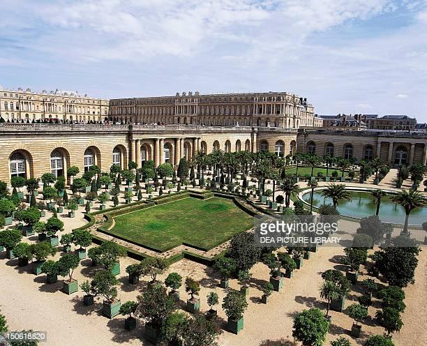 Orangerie Palace of Versailles built in 16811686 by Jules Mansart known as HardouinMansart France 17th century