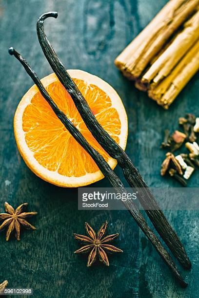 Oranges and spices
