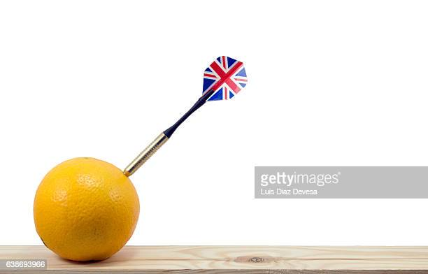 Oranges are afraid of Brexit