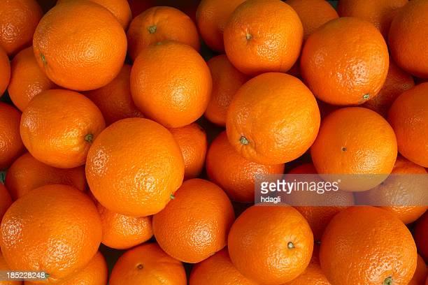 Orangen auf einem Markt
