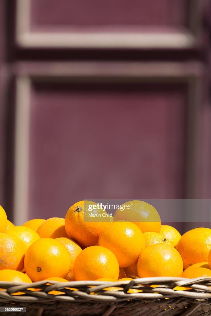 Oranges for sale in Aix en Provence : Stock Photo