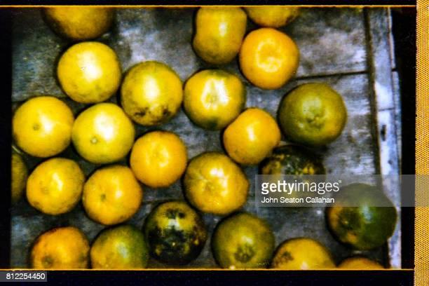 Oranges, in market