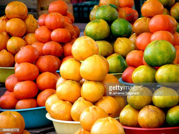 Oranges, lemons, and tomatoes