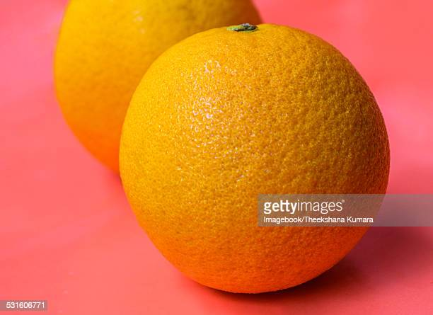 Oranges on Orange background