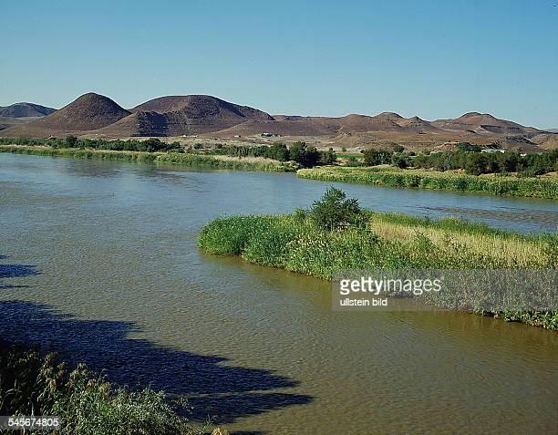Oranje - Fluß, Grenze zu Namibia- o.J.