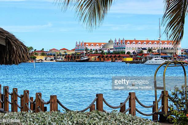 oranjestad, aruba - oranjestad stockfoto's en -beelden