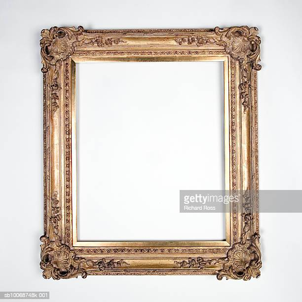 orante picture frame on black background - embellishment stock pictures, royalty-free photos & images