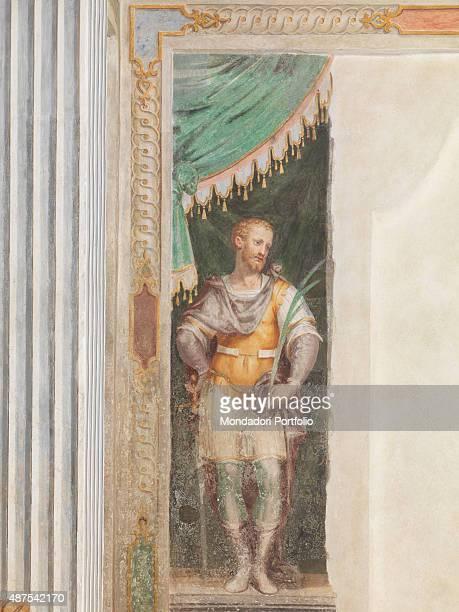 Oratorio di Sant'Ippolito by Aurelio and Giovan Pietro Luini 16th Century fresco Italy Lombardy Gaggiano Vigano Certosino Oratorio di Sant'Ippolito...