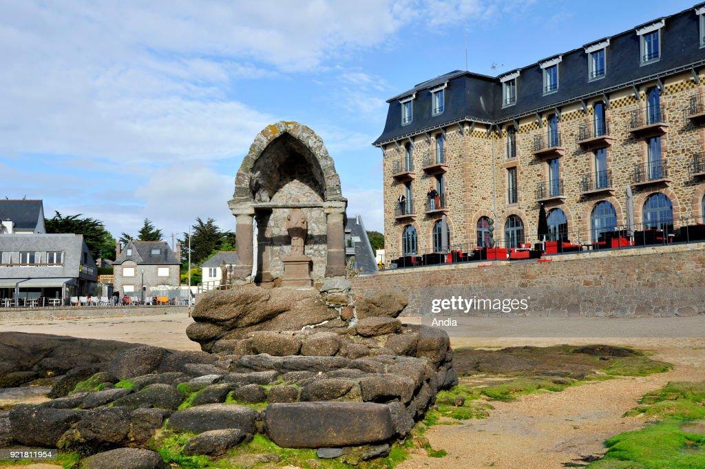 The oratory of Saint Guirec. : News Photo