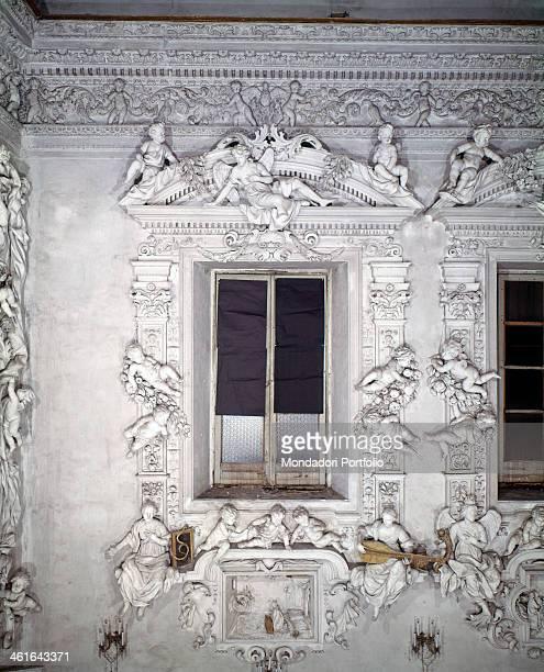 Oratory of the Rosary in Santa Cita in Palermo by Giacomo Serpotta 1686 1688 17th Century stucco Italy Sicily Palermo Church of Saint Cita Detail...