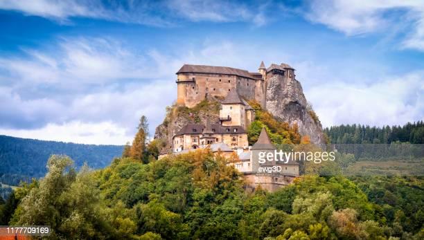 orava castle, slovakia - slovakia stock pictures, royalty-free photos & images