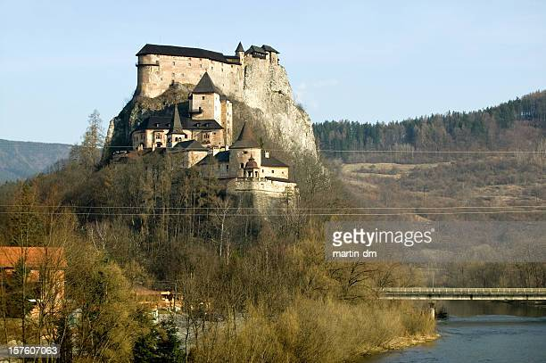 Oravský Burg in der Slowakei