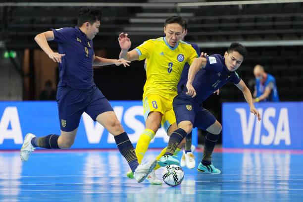LTU: Kazakhstan v Thailand: Round of 16 - FIFA Futsal World Cup 2021