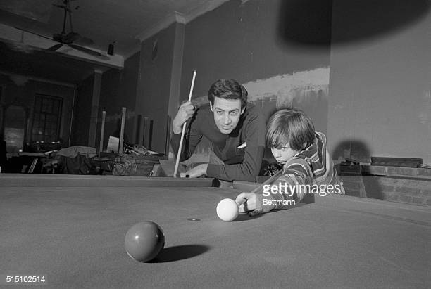 Orbach On Top Jerry Orbach is a die hard pool player His son Tony is fast following in dad's footsteps and doing splendidly at it