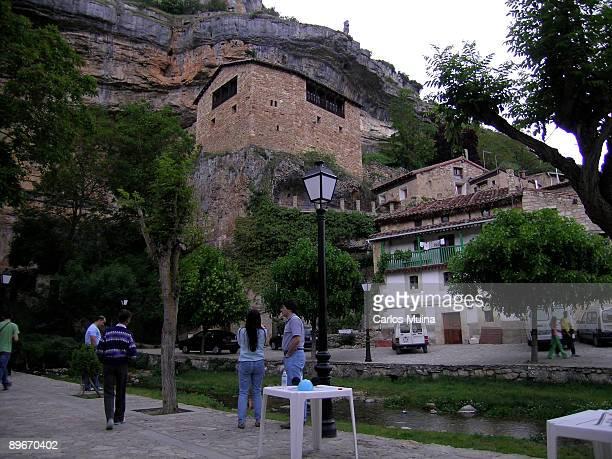 Orbaneja del Castillo Burgos Castilla y Leon General view
