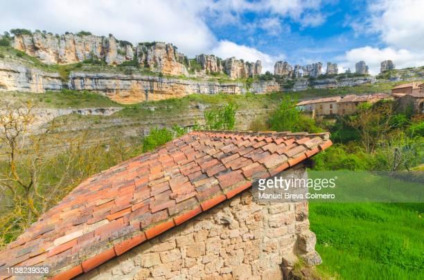 orbaneja del castillo - orbaneja del castillo photos et images de collection