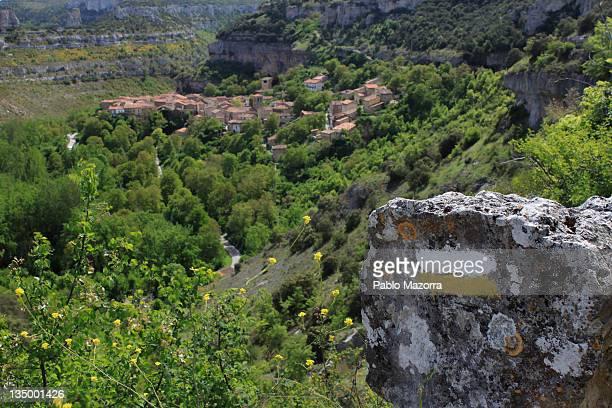 Orbaneja PR Path to Castle, Burgos