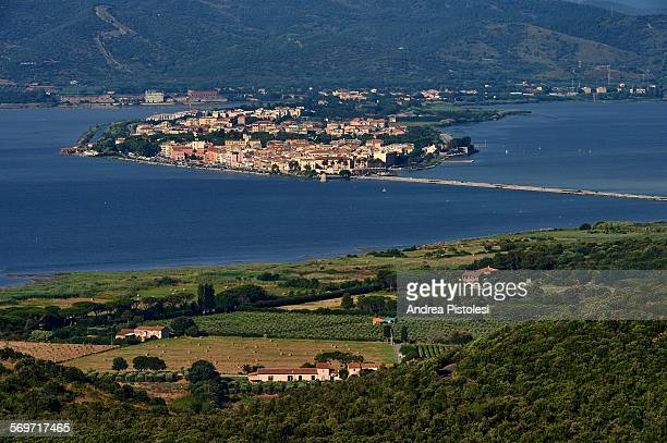 orbetello, argentario, tuscany, italy - orbetello imagens e fotografias de stock